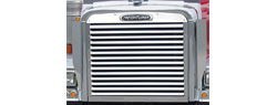 Grill | Freightliner Classic or FLD | Louvered Style | Stainless Steel