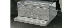 Peterbilt tool box cover plate | Stainless Steel