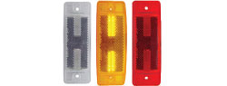 "Rectangular LED | Amber or Red | 16 Diode | 2"" X 6"""