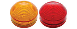 Roadster LED | Amber or Red | 13 diode | 2 1/2 ""