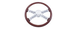 Steering Wheel | International | 4 spoke | Skulls