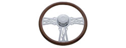 Steering Wheel | Kenworth | 2001 & Newer | Flames